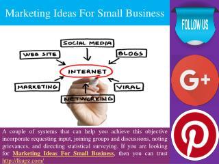 Marketing Ideas For Small Business | Missouri City