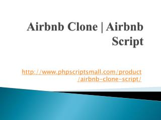 Airbnb Clone | Airbnb Script