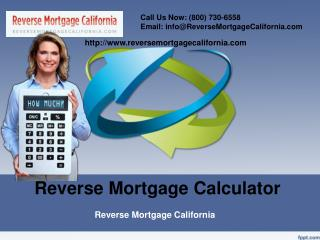 About Reverse Mortgage Calculator