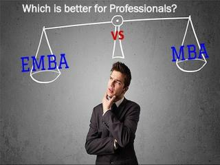 MBA vs Executive MBA Which is better for Professionals