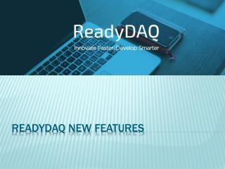 ReadyDAQ| DAQ Software| Data Logger Software