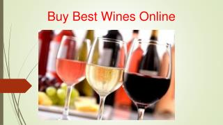 Buy Best Wines Onlines