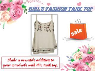 Girl's Fashion Tank TOP