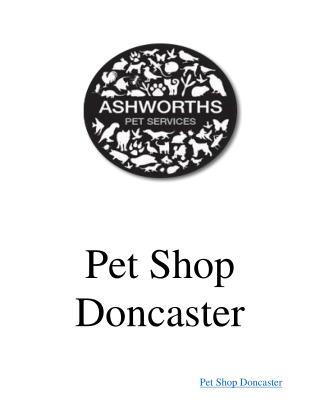 Pet Shop Doncaster