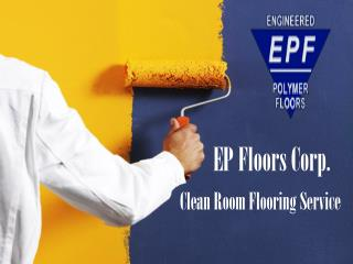 Clean Room Flooring Service