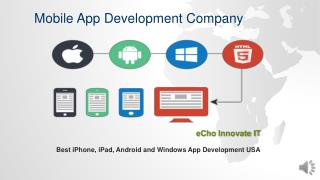 Mobile Application Design and Development  Services