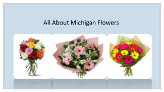 All About Michigan Flowers