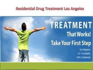 Residential Drug Treatment Los Angeles