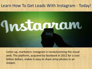 Instagram experts marketing agency