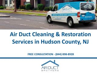 Air Duct Cleaning in Hudson County Using Green Products - Air Duct Brothers
