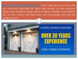 Garage Door Repair Chandler AZ - Call (480) 418-5567
