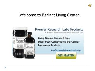 Premier research labs products