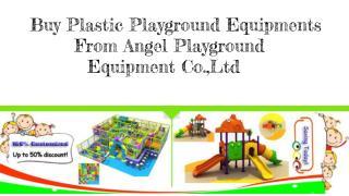 Buy Plastic Playgroun From Angel Playground Equipment Co.,Ltd