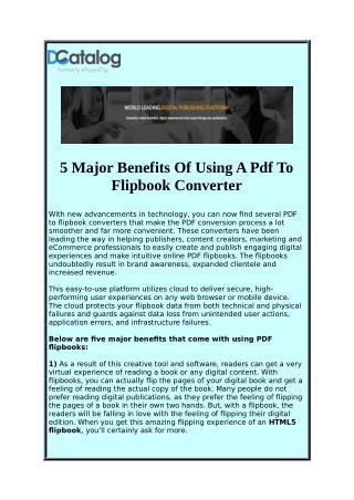 HTML5FlipBook