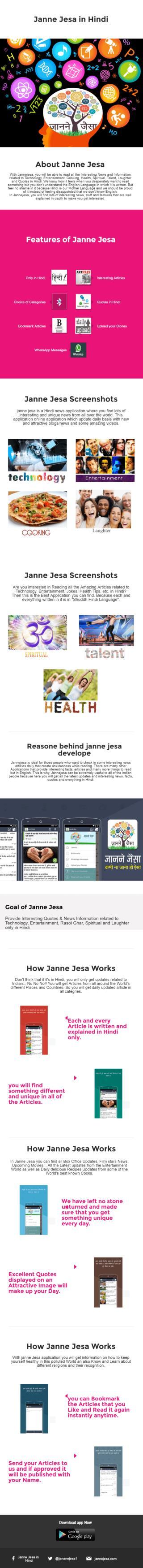 Janne Jesa Infographic