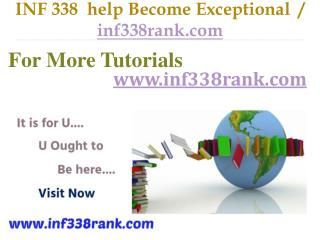 INF 338  help Become Exceptional  / inf338rank.com