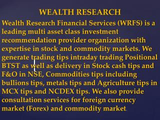 Wealth Research