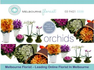 Melbourne Florist – Leading Online Florist In Melbourne
