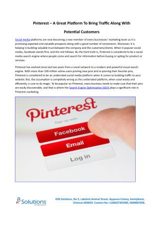 Pinterest for Business | How to Drive Traffic Using Pinterest