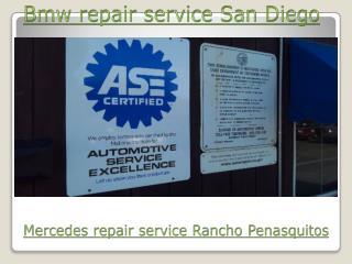 Bmw repair service San Diego