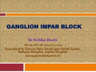 Ganglion Impar Block