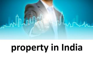 Residential property in india