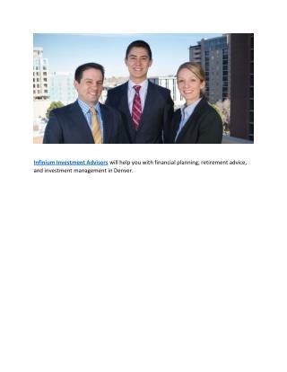Financial Advisors Denver