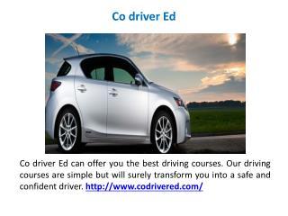 Drivers Ed online Colorado