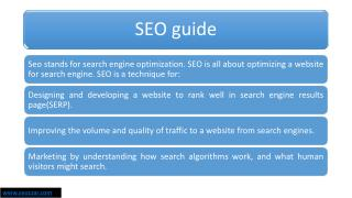 SEO services company in India |SEOCZAR
