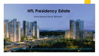 HFL Presidency Estate in Alwar Bypass Road, Bhiwadi - BuyProperty