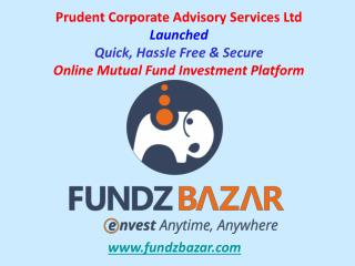 FundzBazar - Best Online Mutual Fund Investment Platform