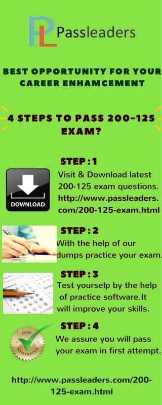 Passleader 200-125 Study Material