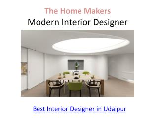 Best Interior Designer in Udaipur, Interior Designer in Udaipur