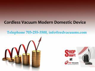 Cordless Vacuum Modern Domestic Device