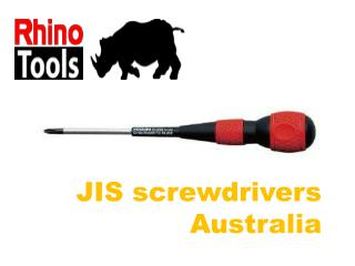 Get Different JIS screwdrivers Australia