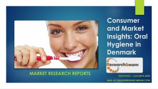 Consumer and Market Insights: Oral Hygiene in DENMARK