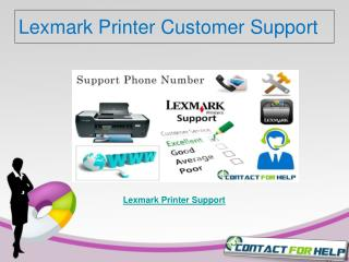 Lexmark Printer Customer Support