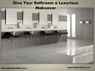 Give Your Bathroom a Luxurious Makeover