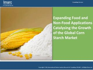 Global Corn Starch Market Growing at CAGR of 3.6% during 2008-2015.