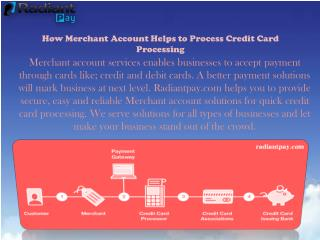 Quick Card Processing with Seamless Merchant Account Services - Radinat Pay