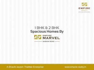 Specious 1 BHK & 2 BHK Flats at Nashik Road, Nashik