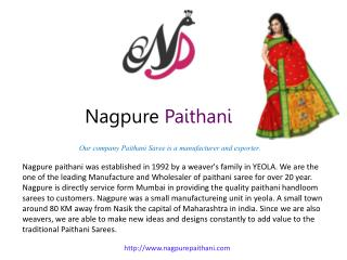 Buy paithani sarees online Mumbai | Paithani saree online shopping