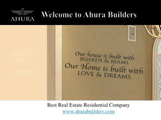 Best Upcoming & Ongoing Residential New Projects in Pune � Ahura Builders
