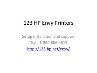 123 HP Envy Printers - 123.hp.com