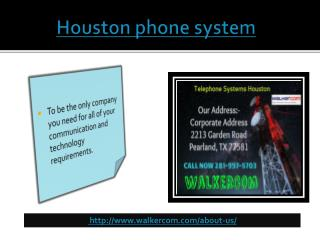 Houston phone system