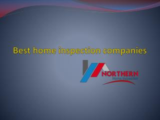 best home inspection companies