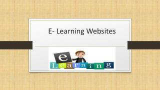 Best E-Learning Websites for Students