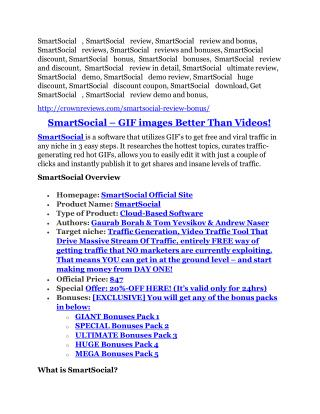 SmartSocial Review-(GIANT) bonus & discount