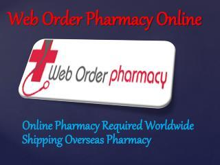 Web Order Pharmacy Online