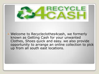 Instant cash for recycling